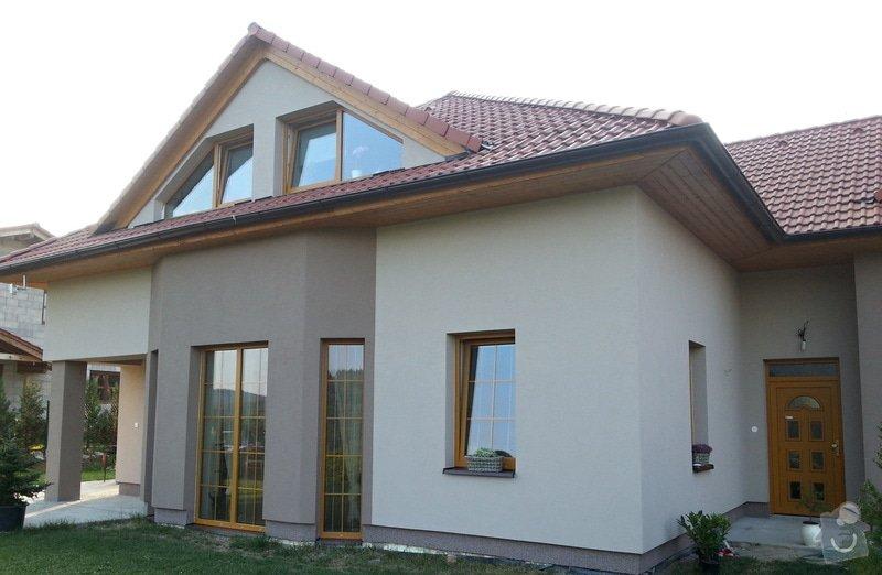 Zateplení rodinného domu: 20130725_191201