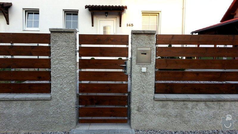 Plot, pojezdová brána a branka: photo_1_