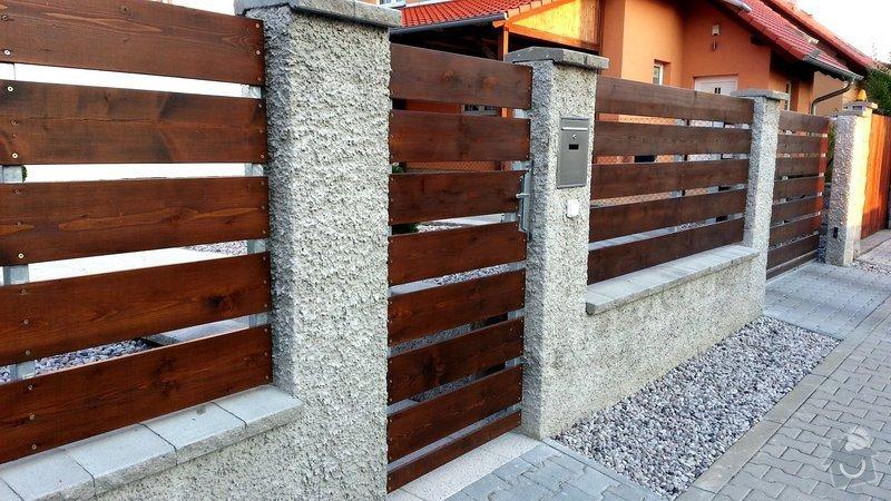 Plot, pojezdová brána a branka: photo_2_