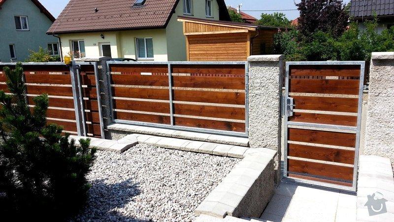 Plot, pojezdová brána a branka: photo_3_