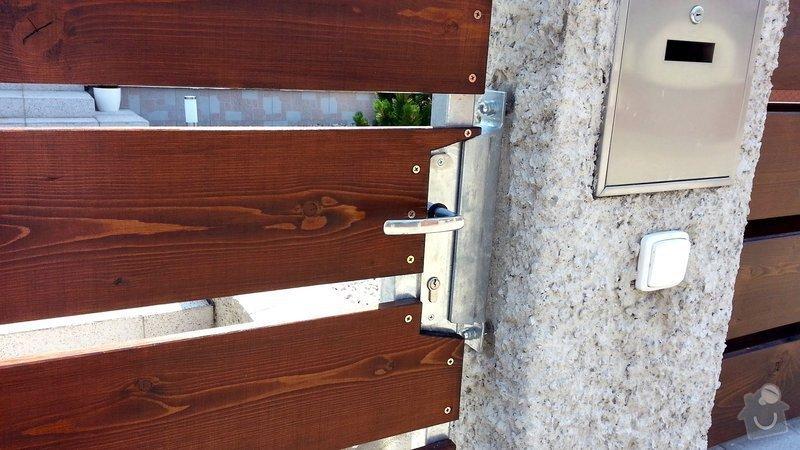 Plot, pojezdová brána a branka: photo_4_