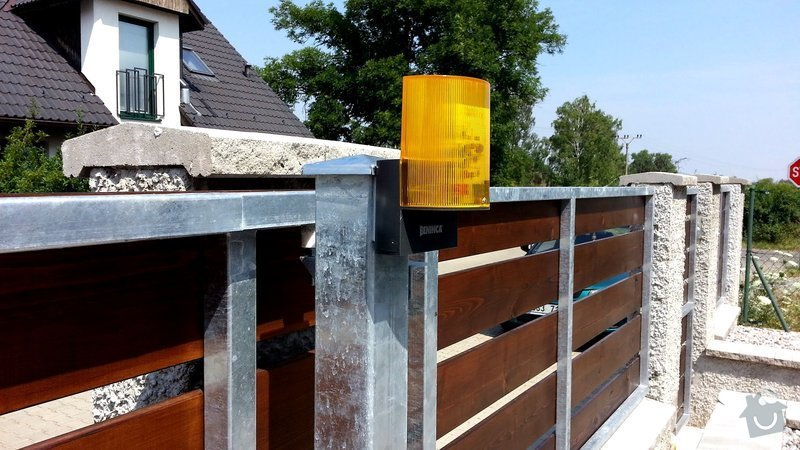 Plot, pojezdová brána a branka: photo_5_