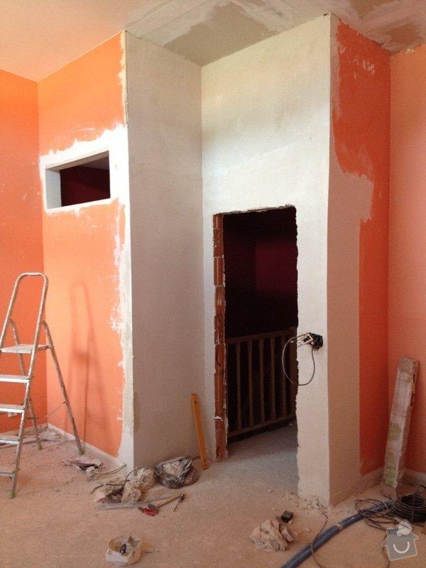 Vyrovnání sádrových omítek 15m2, vyrovnání stavebního otvoru pro zárubně : IMG_0582
