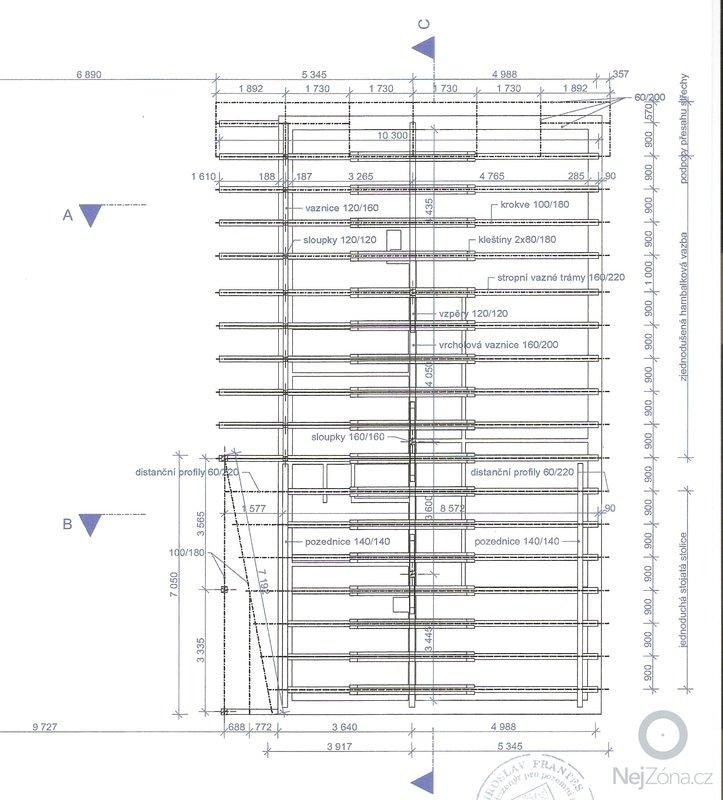 Vazbu CNC nástroji: strecha