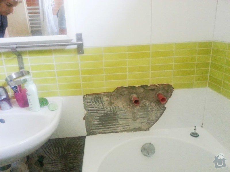 Doplnění obkladů koupelny - 8 kachli 25 x 33 cm: kachle2
