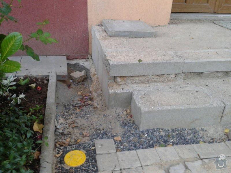 Dokončení vstupního schodiště u panelového domu: 2013-07-17_20.01.31