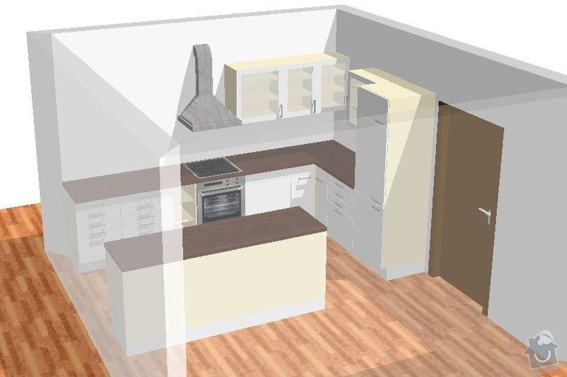 Výroba kuchyně: kuchyn3D