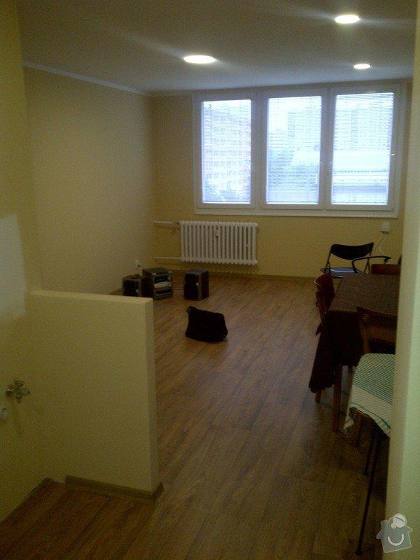 Částečná rekonstrukce bytu: Praha-20130603-01395