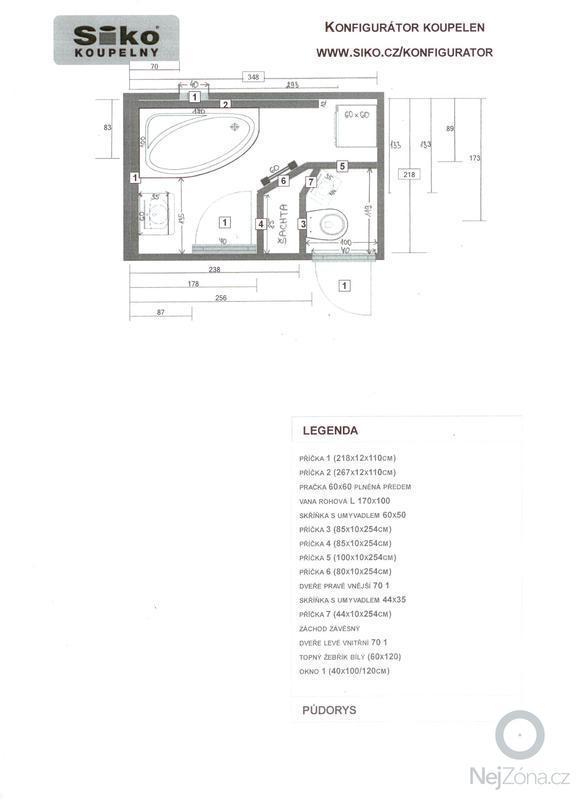 Rekonstrukce bytového jádra: planek_koupelny