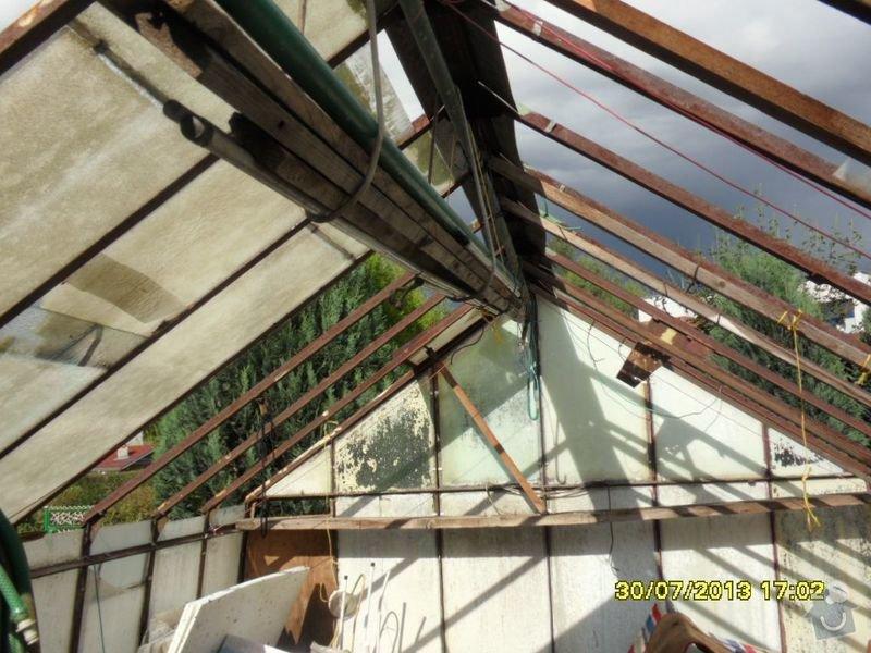Kompletní instalace střechy na zahradní domek: Zahradni_domek_strecha2_2013
