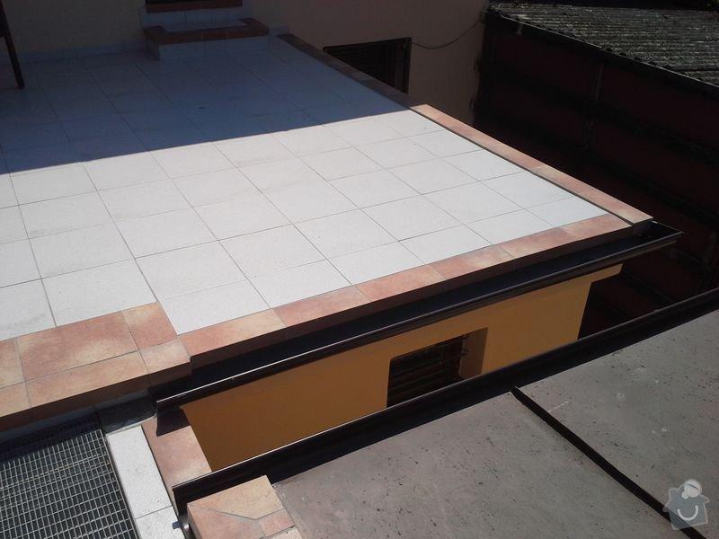 Dodávka a montáž zábradlí pro terasu a balkon: 20130727_141803