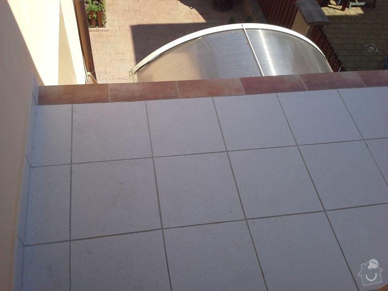 Dodávka a montáž zábradlí pro terasu a balkon: 20130727_142022