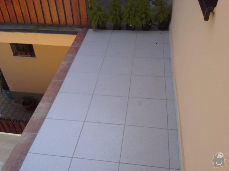 Dodávka a montáž zábradlí pro terasu a balkon: 20130727_142027