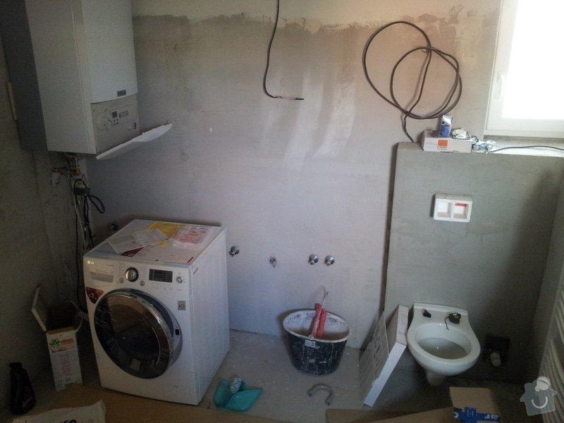Dokončenie kúpelne - obklady + sanita: 20130731_073720