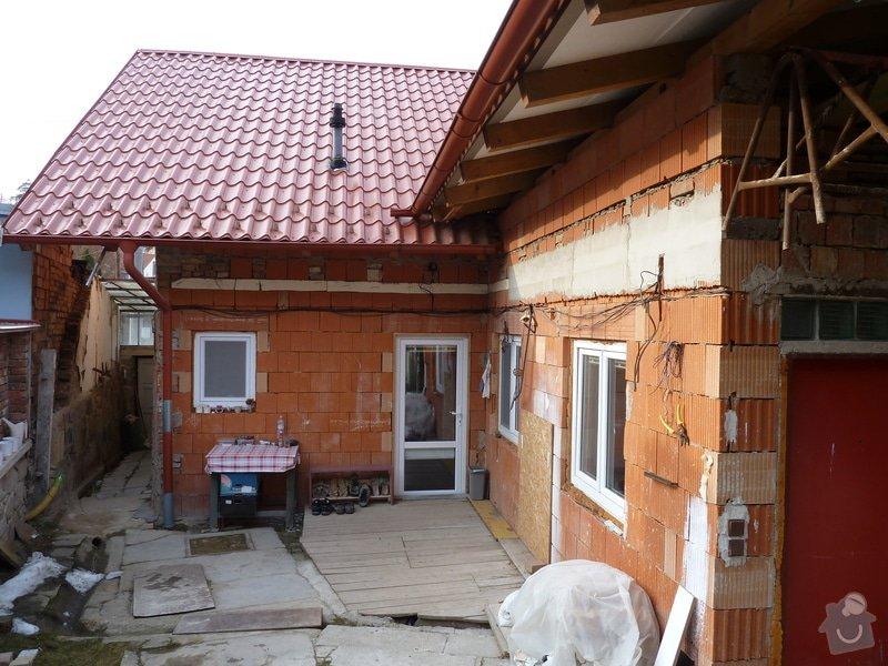 Zateplení rodinného domu: P1050577