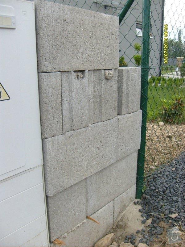 Stavba plotu: Svoboda_-_detail_zednicke_prace_2