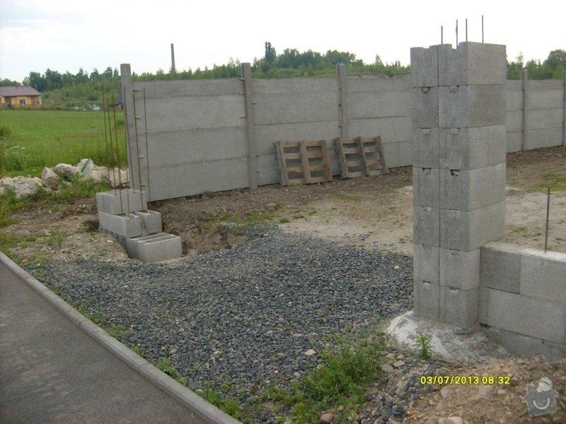 Stavba plotu: Svoboda_-_hotovo