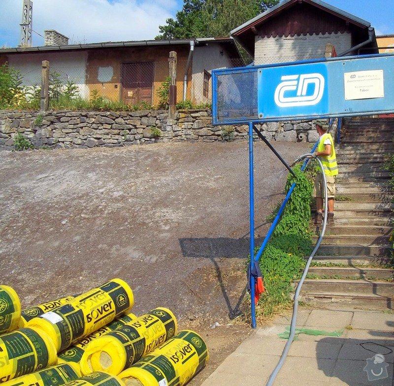 Hydroosev - zpevnění a zatravnění svahů: tabor_1g
