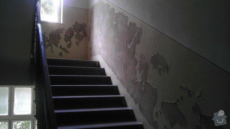 Malířské práce, činžák: Foto_schodiste_1