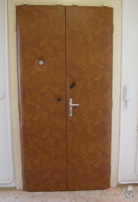 Čalounění vstupních dveří: dvere_2