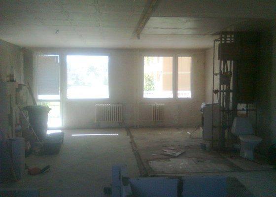 Rekonstrukce 3kk v panelovém domě