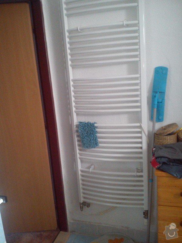 Napojení žebříkového radiátoru: DSC_0005