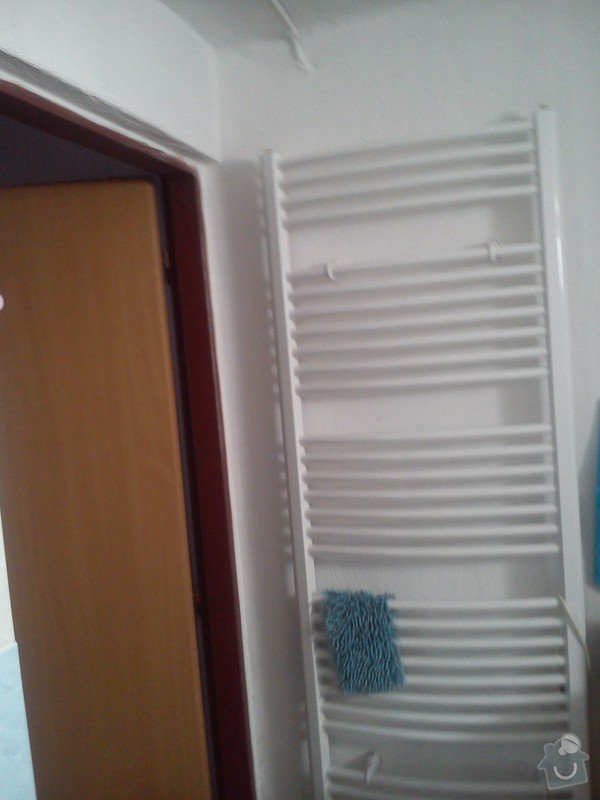 Napojení žebříkového radiátoru: DSC_0006