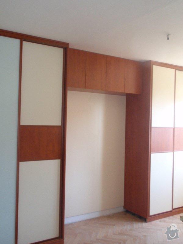 Výroba a montáž vestavěných skříní + postele: P8010261