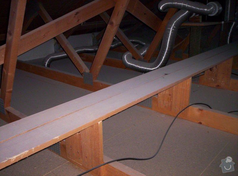 Zateplení stropu novostavby RD bungalovu: 102_3103