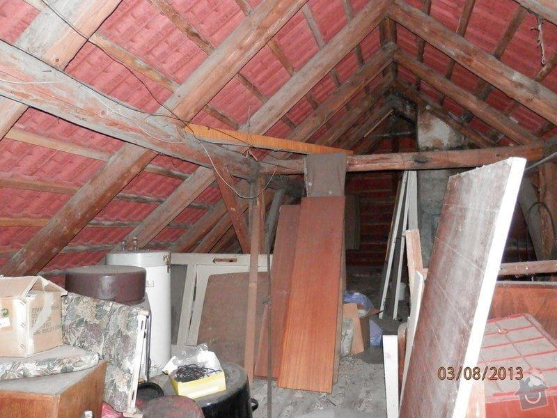 Zatepleni strechy,vystavba podkrovi k bydleni: P8030366