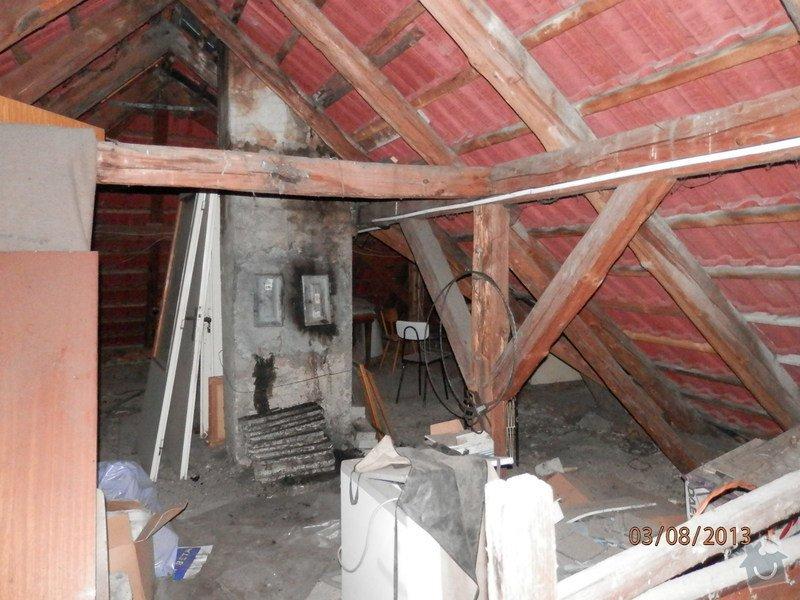 Zatepleni strechy,vystavba podkrovi k bydleni: P8030367