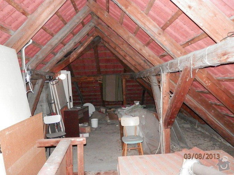 Zatepleni strechy,vystavba podkrovi k bydleni: P8030369