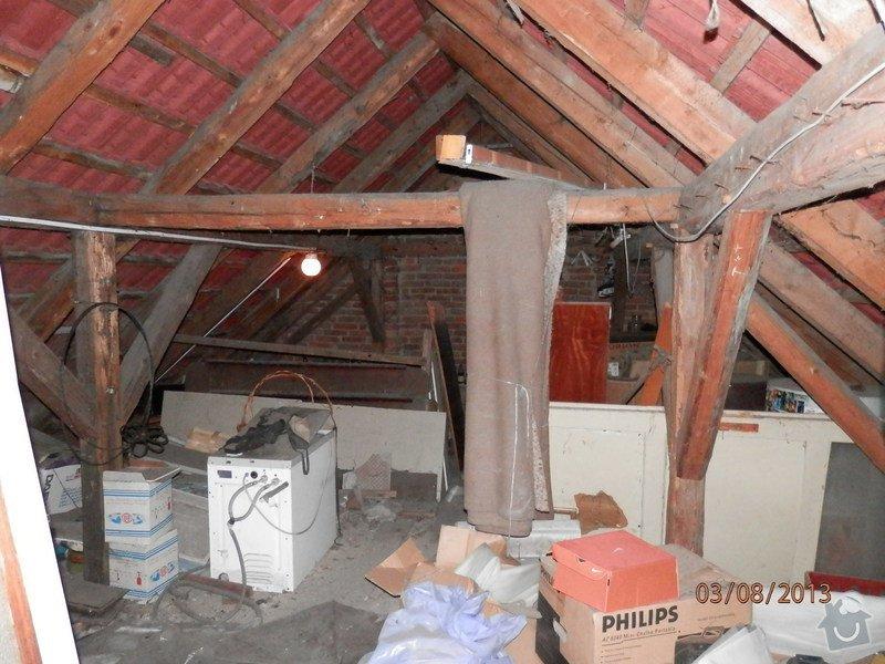 Zatepleni strechy,vystavba podkrovi k bydleni: P8030371