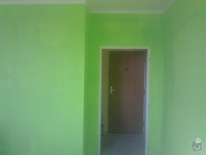 Rekonstrukce panelového bytu: malovani_loznice