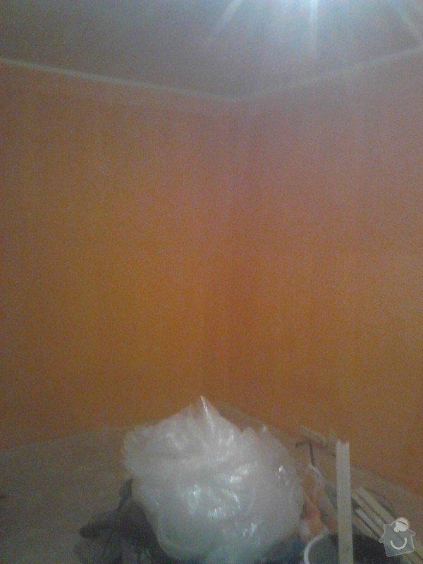 Rekonstrukce panelového bytu: malovani_obyvaku