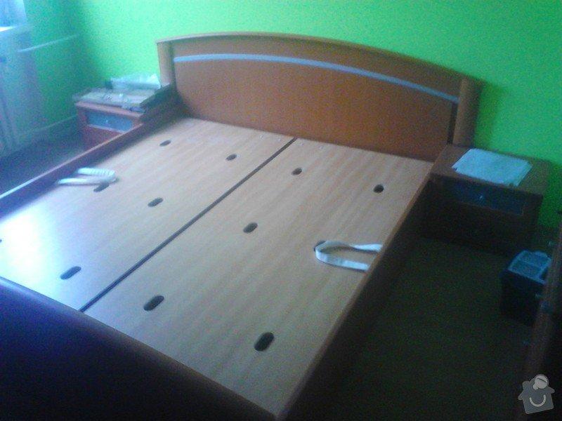 Rekonstrukce panelového bytu: montaz_manzelske_postele