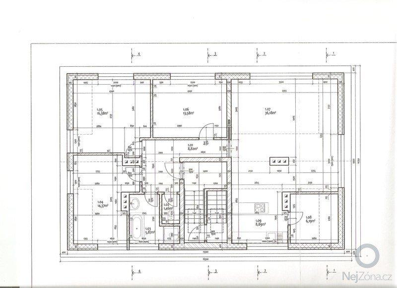 Komplet SDK v půdní nástavbě : Pudorys_001