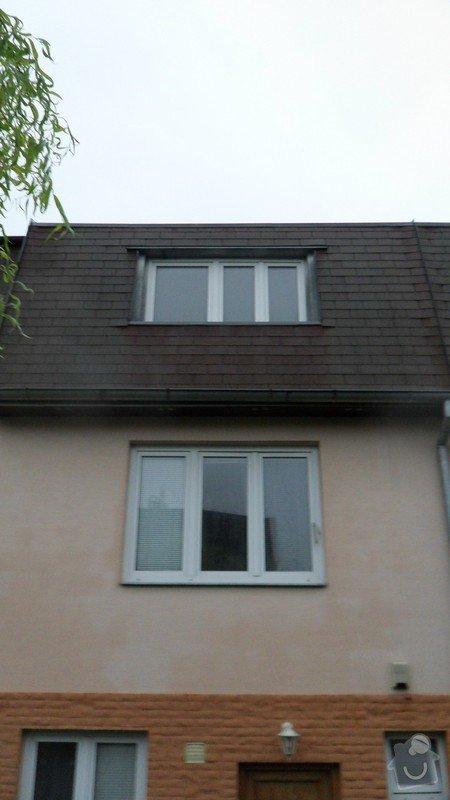 Opravu zatékající střechy: SAM_5909