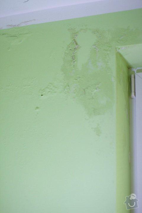 Odstranění skvrn na zdi: zed1