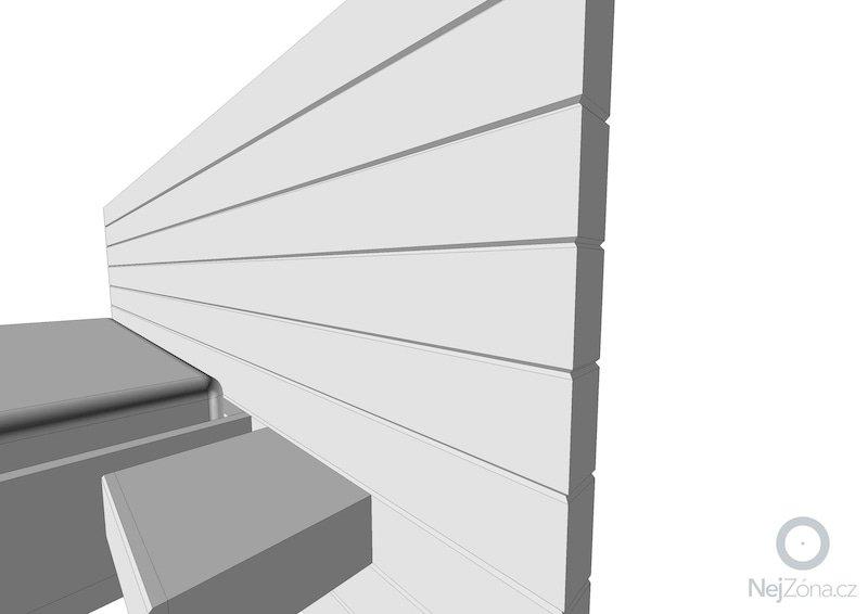 Loznice - postel a oblozeni sten: Oblozeni1
