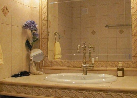 Koupelna - výměna umyvadlového pultu