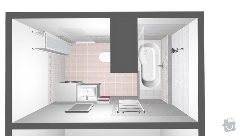 Rekonstrukce bytového jádra ve stylu Provence: obr1