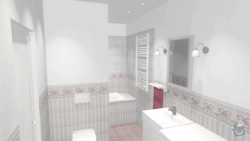 Rekonstrukce bytového jádra ve stylu Provence: obr2