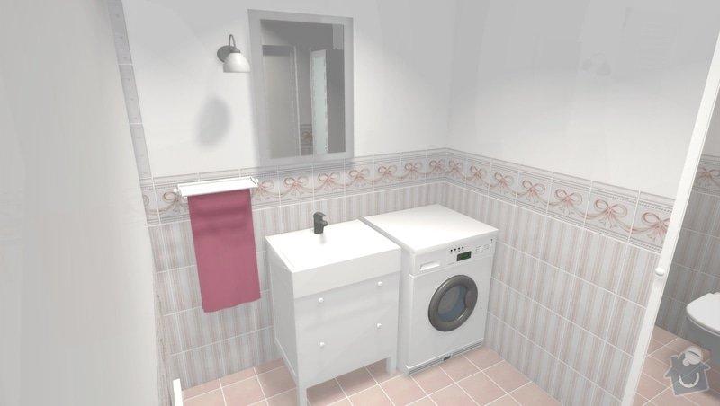 Rekonstrukce bytového jádra ve stylu Provence: obr4