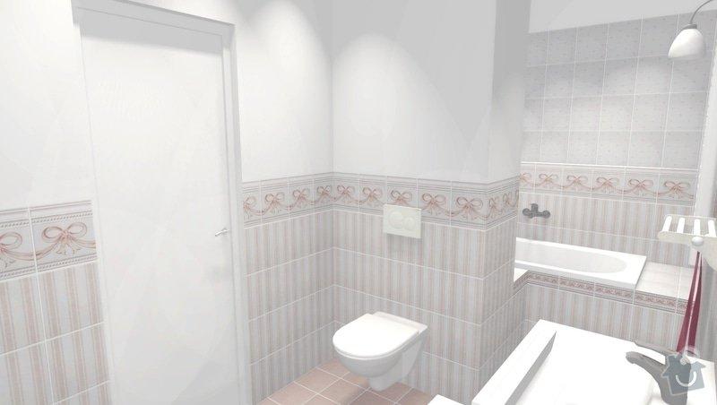 Rekonstrukce bytového jádra ve stylu Provence: obr5