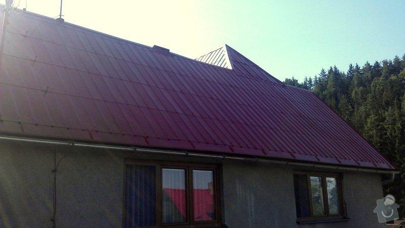 Nátěr střechy + drobné klempířské práce: IMAG0486
