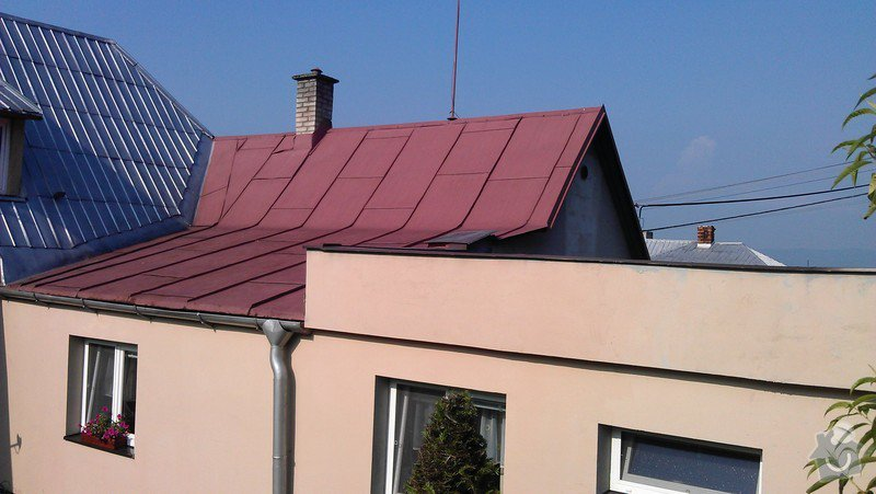Nátěr střechy + drobné klempířské práce: IMAG0345