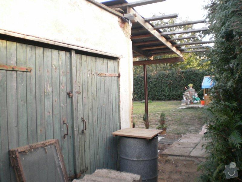 Kompletní rekonstrukce garáže, přístavek pergola: 17-200909_79_