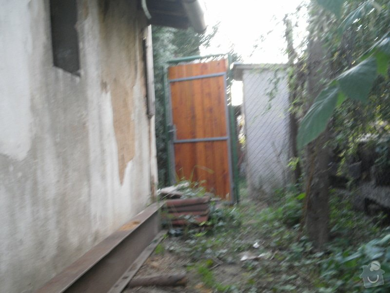 Kompletní rekonstrukce garáže, přístavek pergola: 26-280709_5_
