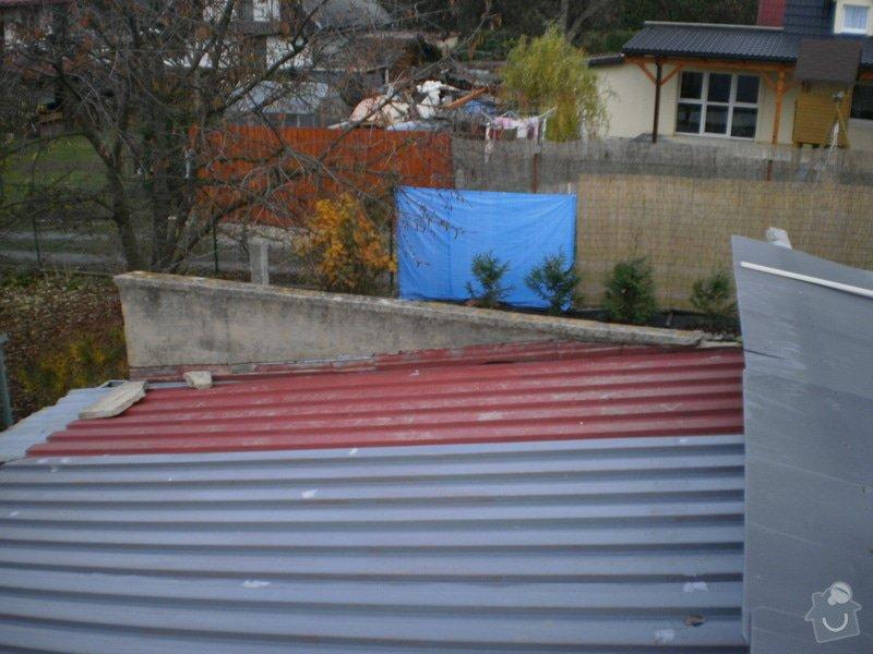 Kompletní rekonstrukce garáže, přístavek pergola: 03-151109_228_